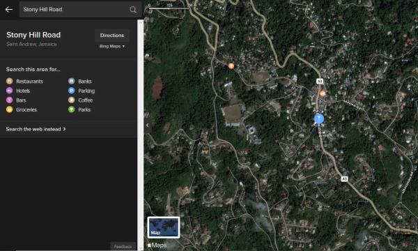 DuckDuckGo Apple Maps 1