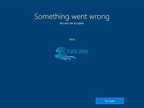 Windows 10 1903 loi msa