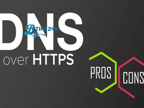 bat DNS qua HTTPS