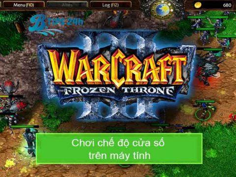 cach choi warcraft 3 che do cua so
