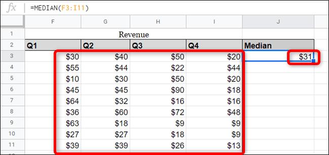 cach dung median tren google sheet 4