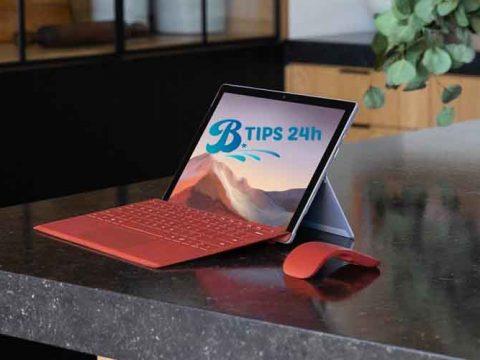cach sua loi Microsoft Surface Pro 7 wifi cham