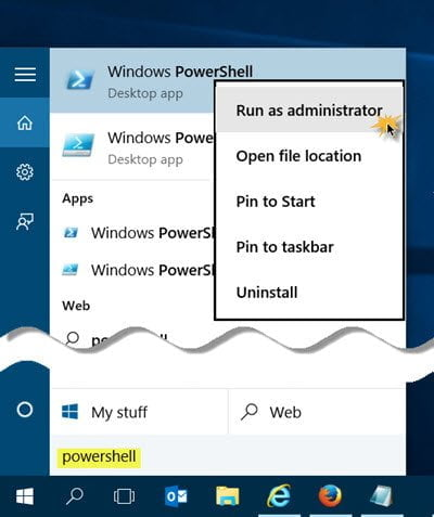 mo PowerShell prompt