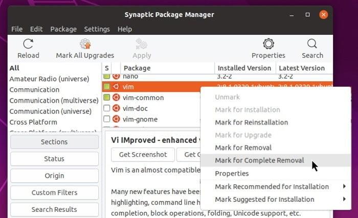 Cách xóa rác khi gỡ cài đặt phần mềm trên Linux