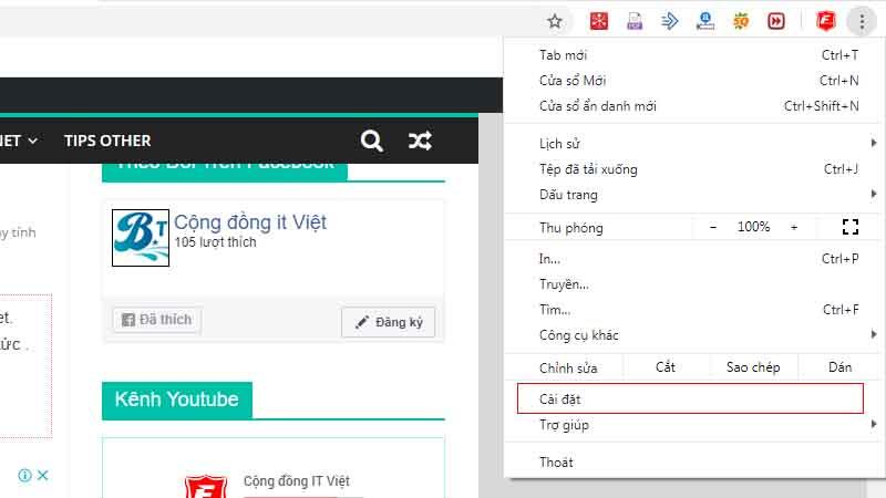 Copy text trên trang web bị chặn trên Chrome 1