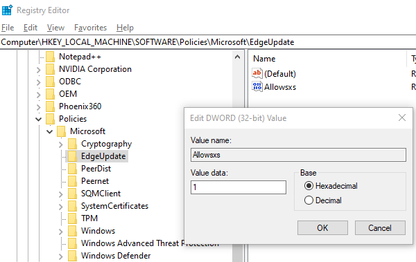 Cách dùng song song Legacy Edge và Chromium Edge 1