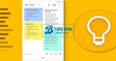 Cách sử dụng Google Keep Notes với Google Assistant