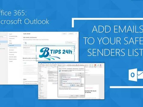 sua loi mail vao spam trong outlook office
