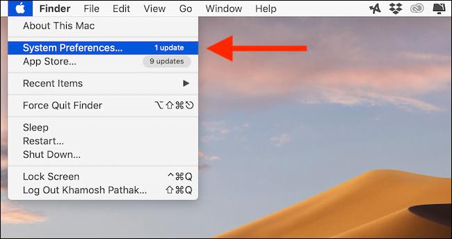 Cách tăng độ tương phản trên màn hình Mac