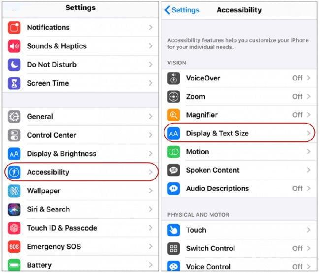 Cách tắt điều chỉnh độ sáng tự động trên IOS 13