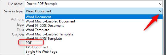 Chuyển đổi sang PDF và sau đó thành JPEG trên Windows 1