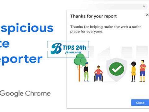 report website cho google 2