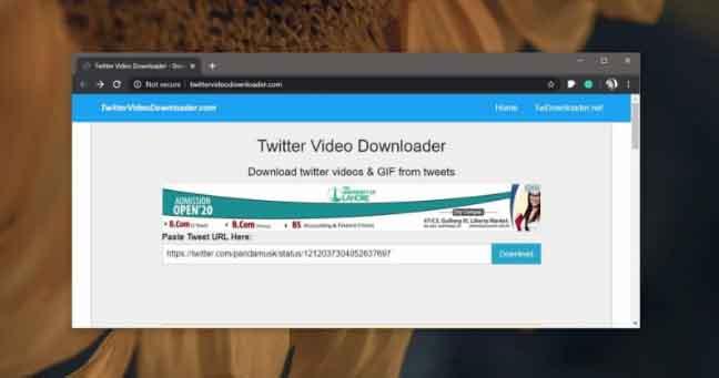 Cách tải video trên Twitter một cách đơn giản