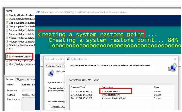 tao diem system restore windows 10 6
