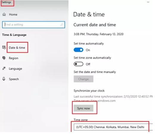 Microsoft Store error 0x80072F05 1