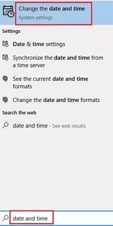 Sửa lỗi Windows Store error 0x80072F05 The server stumbled