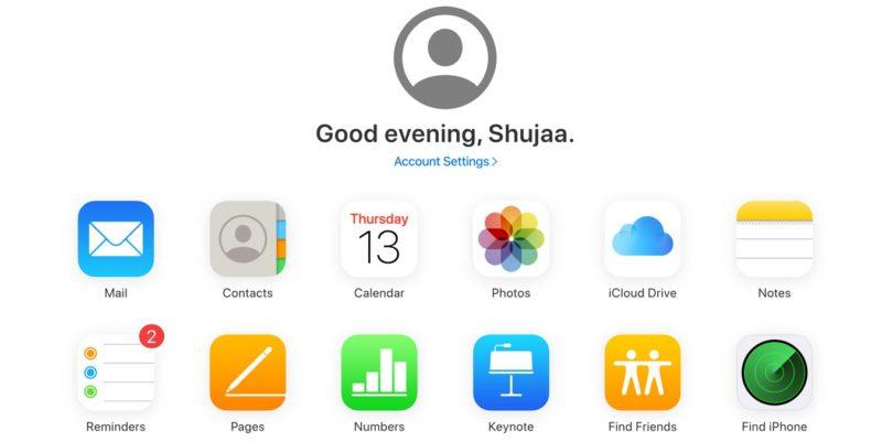 Cách khôi phục danh bạ trên thiết bị iOS từ iCloud