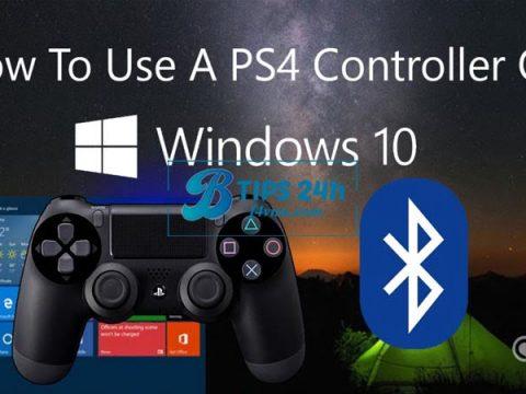 ket noi ps4 controller voi windows 10 5