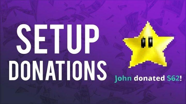 Cách thiết lập donations quyên góp trên Twitch