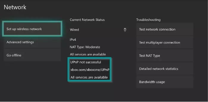 Khắc phục lỗi UPnP not successful trên Xbox One