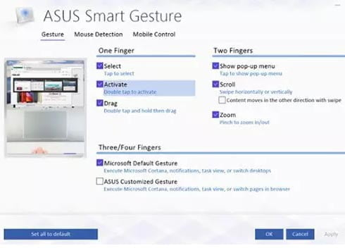 Sửa ASUS Touchpad không hoạt động trên Windows 10