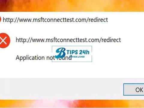 sua loi msftconnecttest 5
