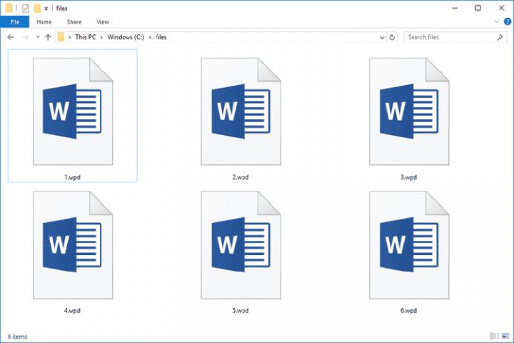 wpd files