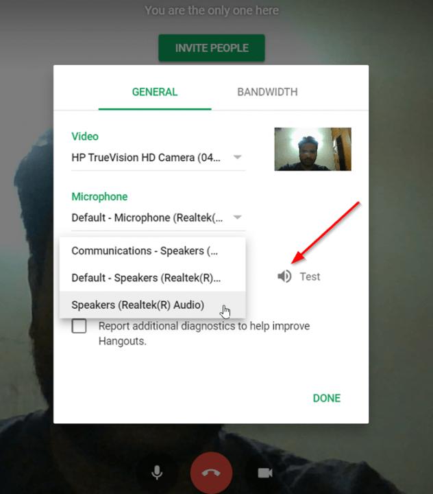 Google Meet Test