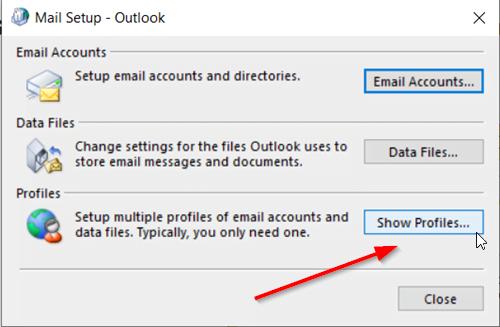 Sửa lỗi Unknown Error 0x80040600 Outlook Office