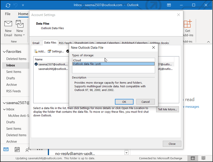 Outlook PST 1
