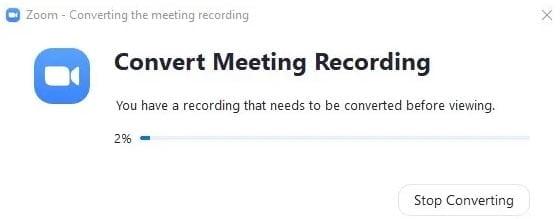 Lưu bản ghi cuộc họp trên zoom meeting