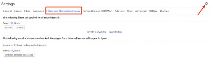 thiết lập Safe Senders để bỏ chặn nội dung email