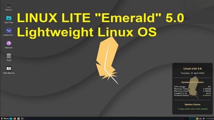 Giới thiệu và đánh giá tính năng Linux Lite 5.0 Emerald