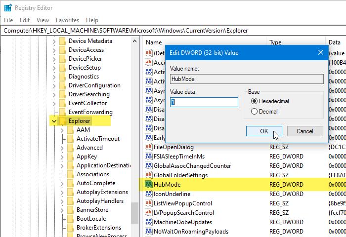 add remove quick access favorites navigation pane 1