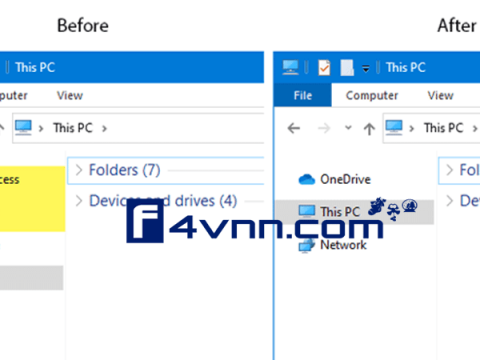 add remove quick access favorites navigation pane thumbnail