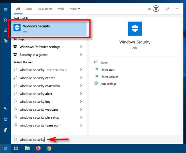 Windows Defender trên Windows 10