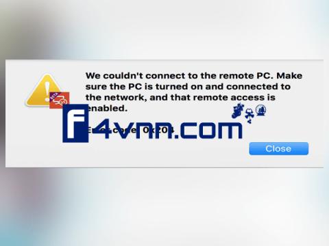remote desktop error code 0x204 thumbnail
