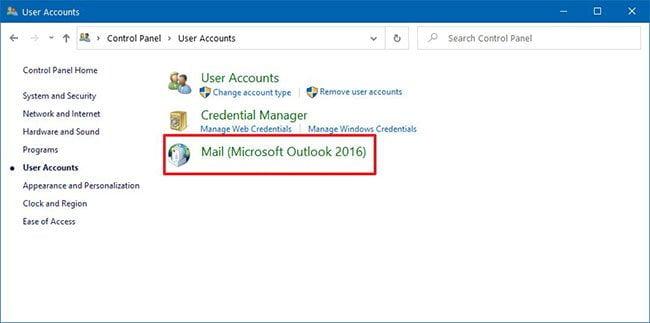 Hướng dẫn sửa mã lỗi 0x80004005 trên Outlook