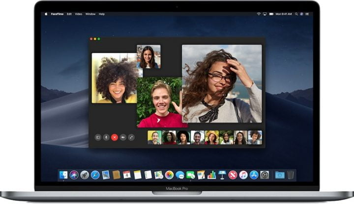 Tắt tự động Moving Faces Group FaceTime trên Mac