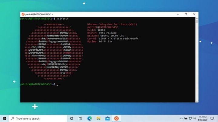 Cách cài đặt WSL 2 trên Windows 10 May 2020 Update