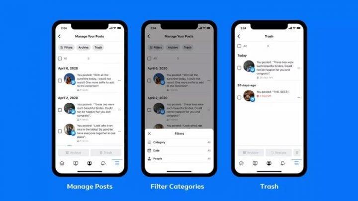 Cách dùng Manage Activity xóa bài đăng khỏi Facebook