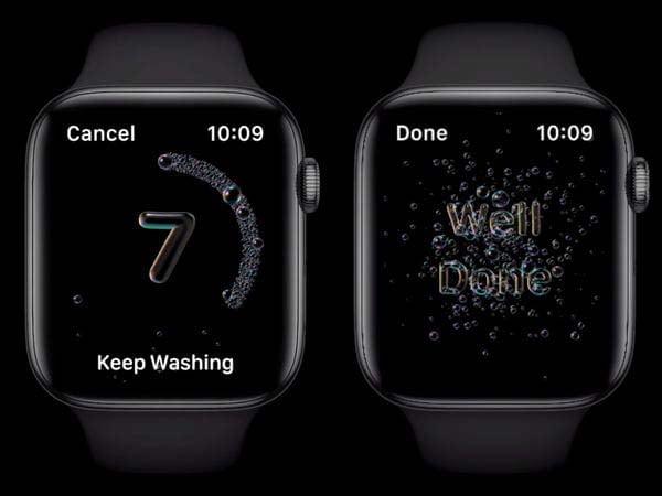 Cách sử dụng tính năng rửa tay mới của Apple Watch