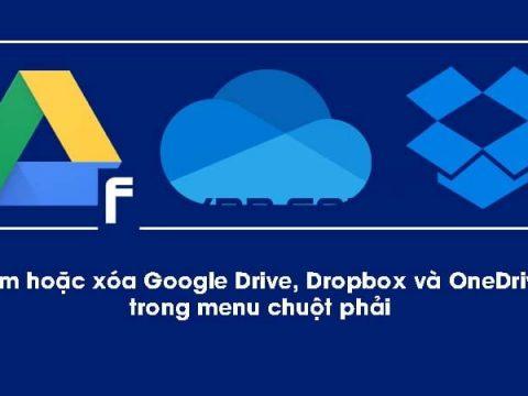 them hoac xoa google drive Dropbox OneDrive trong chuot phai windows thumbnail