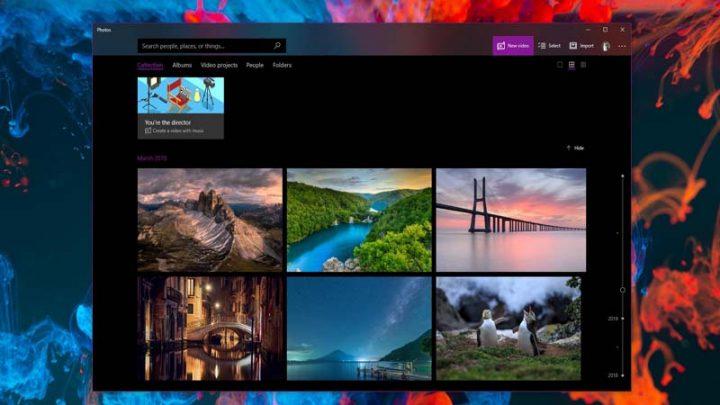 Cách xem ảnh dưới dạng trình chiếu trên Windows 10