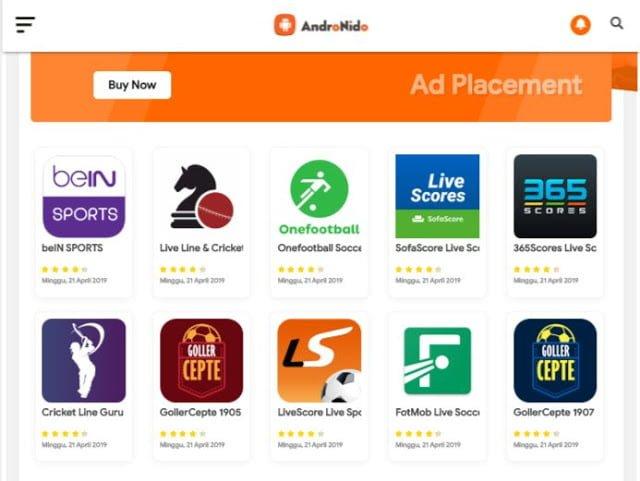 App Store Blogger Template 2020