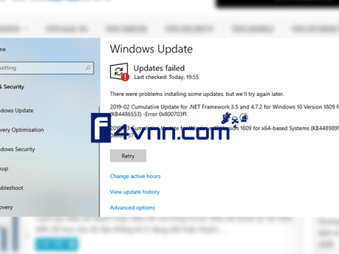 Fix Windows Update Error 0x800703F1 thumbnail