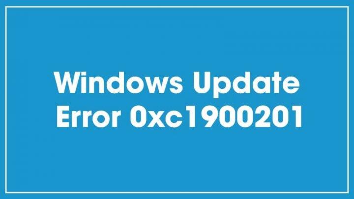 Cách sửa lỗi Windows Update Error 0xc1900201 trên Windows 10