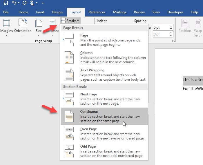 lock specific part word document 1
