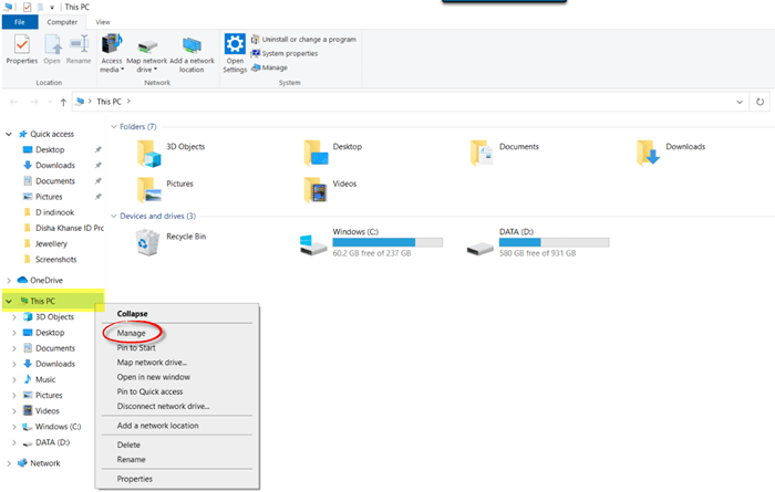 7 cach mo device manager tren windows 10 4