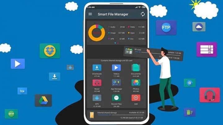 6 ứng dụng quản lý file tốt nhất cho năm 2020 cho Android
